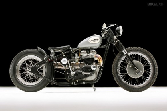 Triumph old-school-bobber